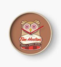 Tim Hootons Cafe & Bake Shop Clock