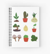 Happy Lil Plants Spiral Notebook