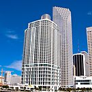 Downtown Miami Architecture by photorolandi
