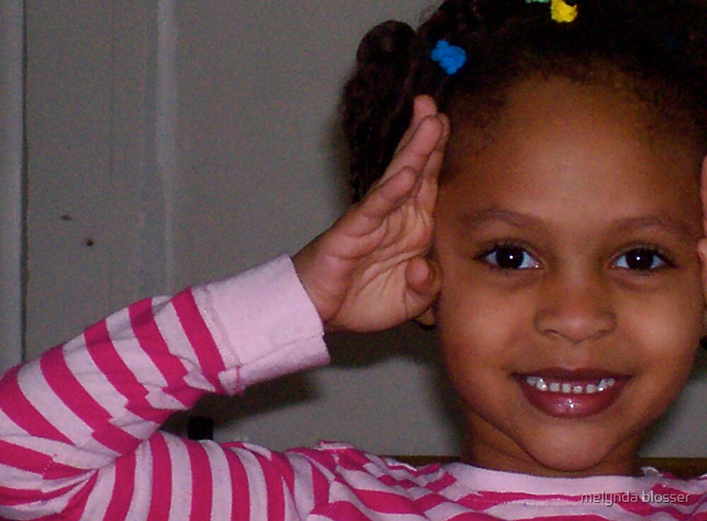 cuttiest little girl by melynda blosser