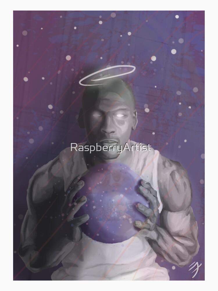 MICHAEL JORDAN SPACE JAM by RaspberryArtist
