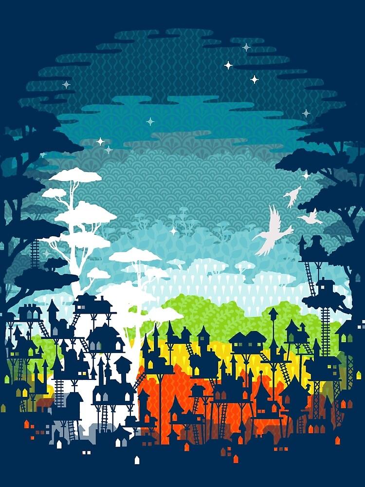 Ciudad de la selva de EleanorLutz