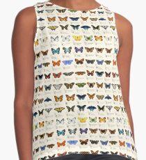Blusa sin mangas Mariposas de América del Norte