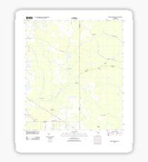 USGS TOPO Map Florida FL Branchborough 20120720 TM Sticker