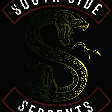Southside Serpents (black) by sarahhwilsonn