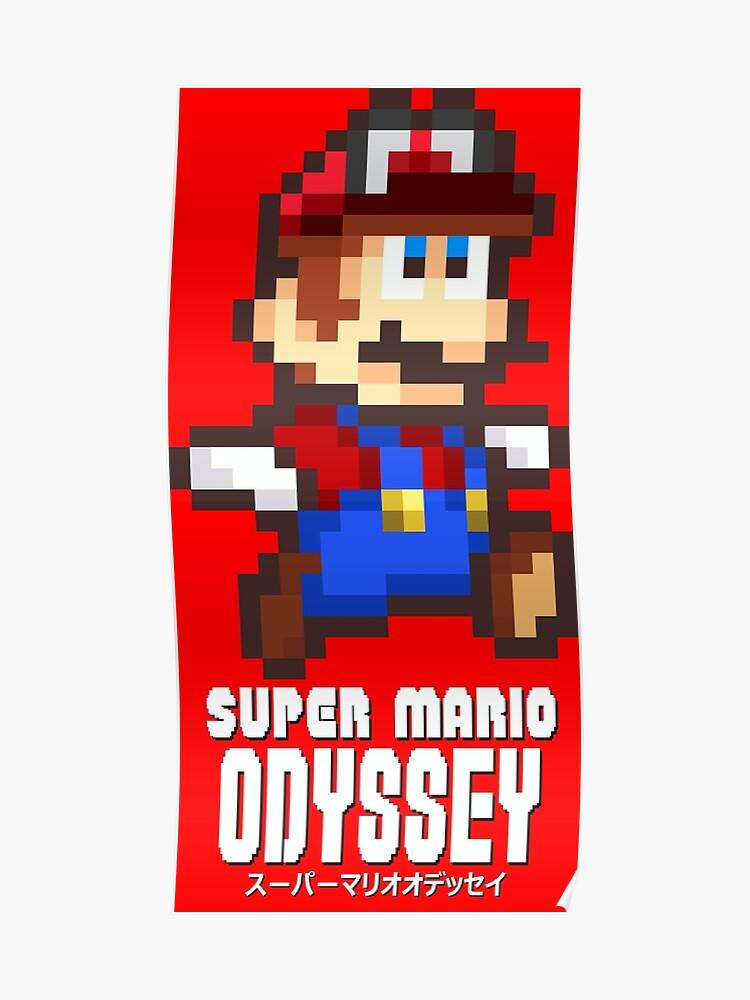 Mario Samurai Poster