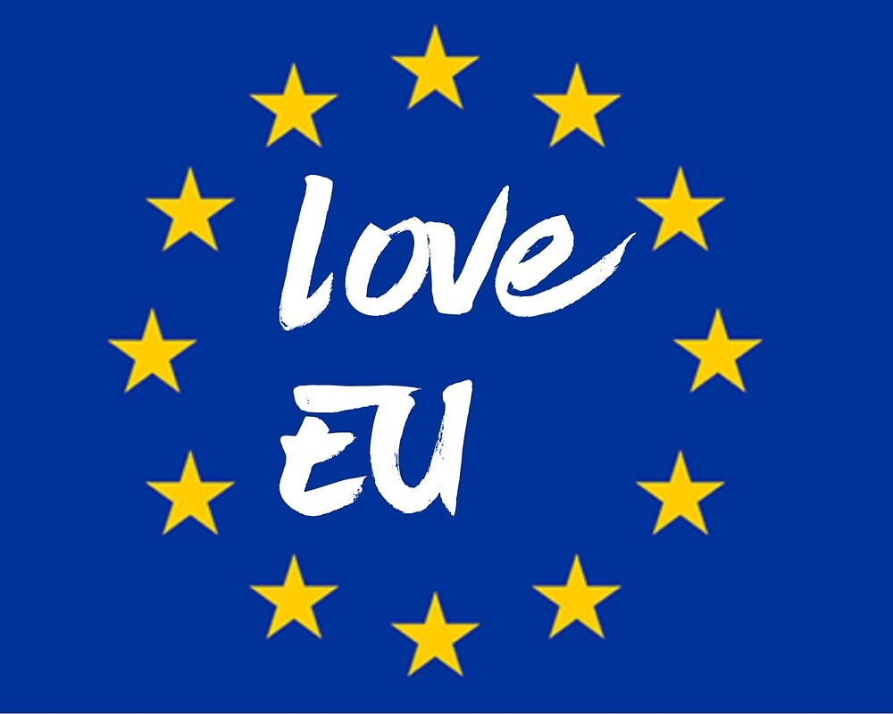 Love EU by MworldTee