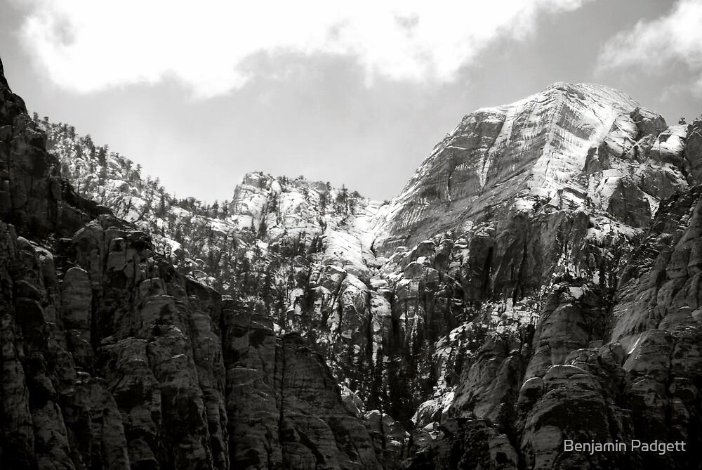 Snow at Red Rock Canyon by Benjamin Padgett