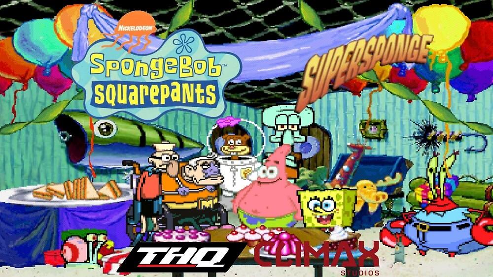 SpongeBob SquarePants: SuperSponge - Patrick's Party by TheCosmicGnome