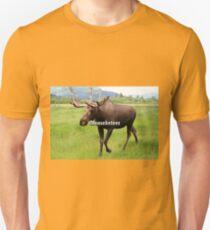 Mooseketeer: Alaskan moose Unisex T-Shirt