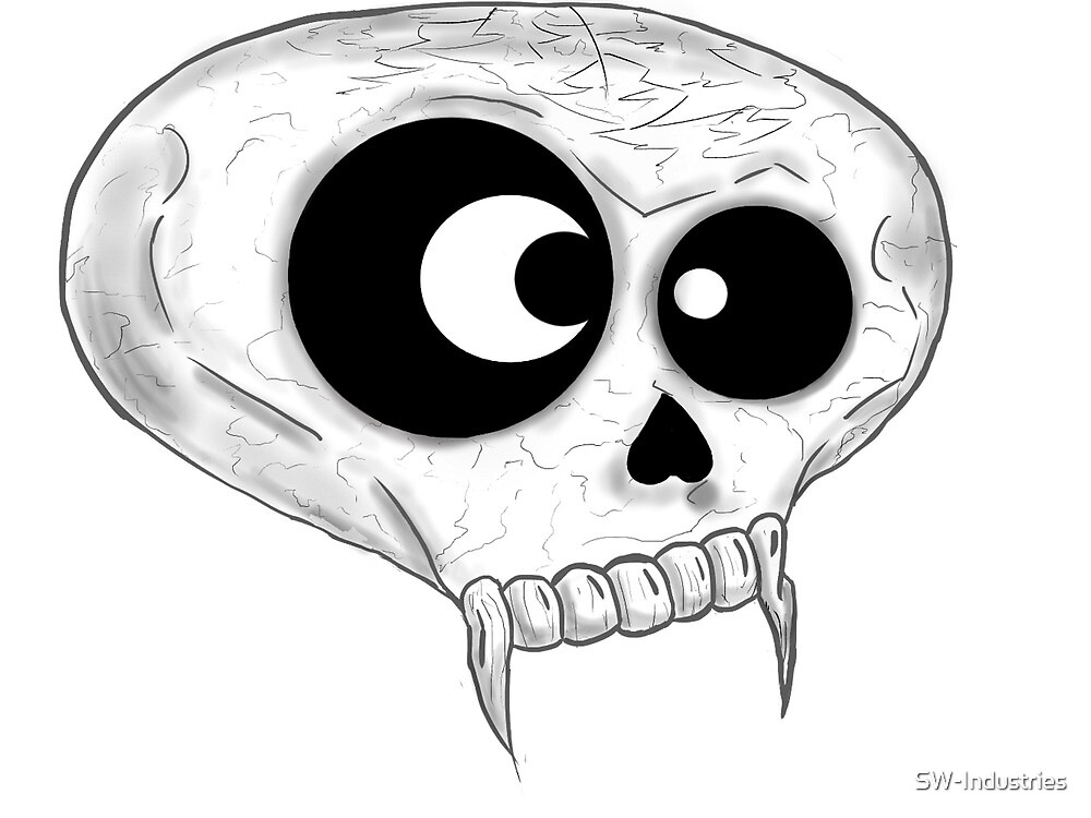 Derp Skull by SW-Industries