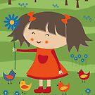 Happy Meitlis - Frühlingszauber von WACHtraum