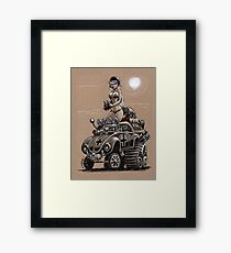 Desert Bettle Framed Print