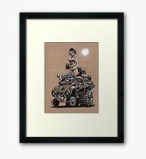 Desert Bettle Framed Print