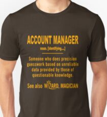 ACCOUNT MANAGER DEFINITION Unisex T-Shirt