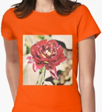 Beautiful flower Womens Fitted T-Shirt