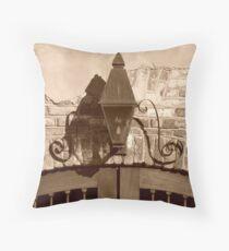 Queen Street Gas Lamp #2 Throw Pillow