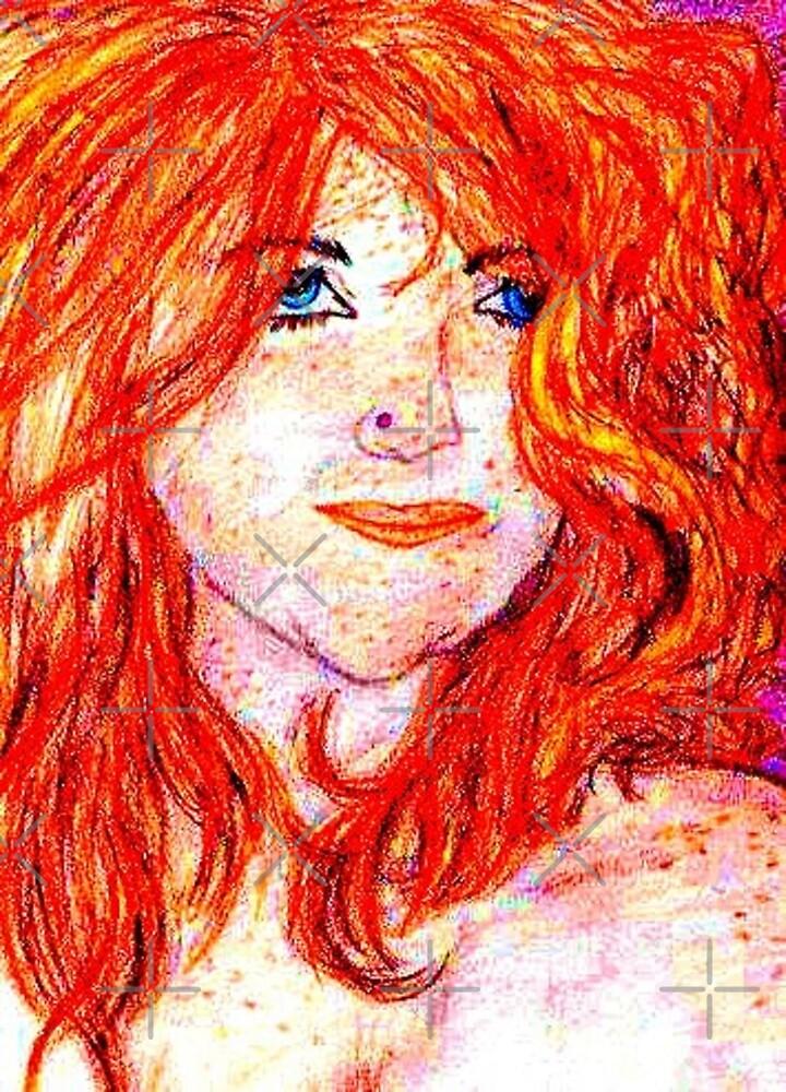 Self Portrait (enhanced) by AlysiaMcC13