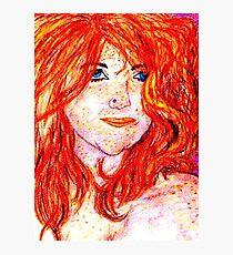 Self Portrait (enhanced) Photographic Print
