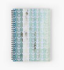 Anchor design Spiral Notebook