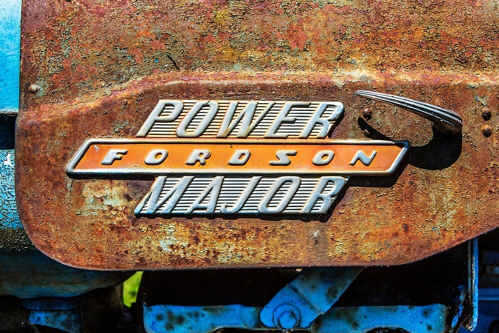 Fordson Major by Dave Hare