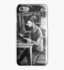 s at her studio iPhone Case/Skin