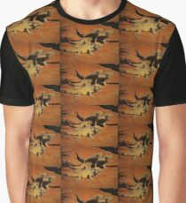 Iguana Trio Graphic T-Shirt