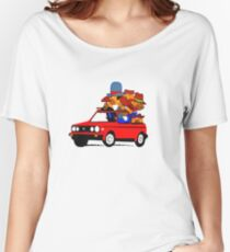 Anthill Mob's Vw Golf Women's Relaxed Fit T-Shirt