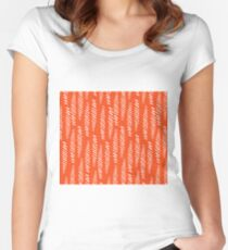 Tikehau candy red  Women's Fitted Scoop T-Shirt