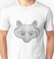 Raw Polygon Racoon  Unisex T-Shirt