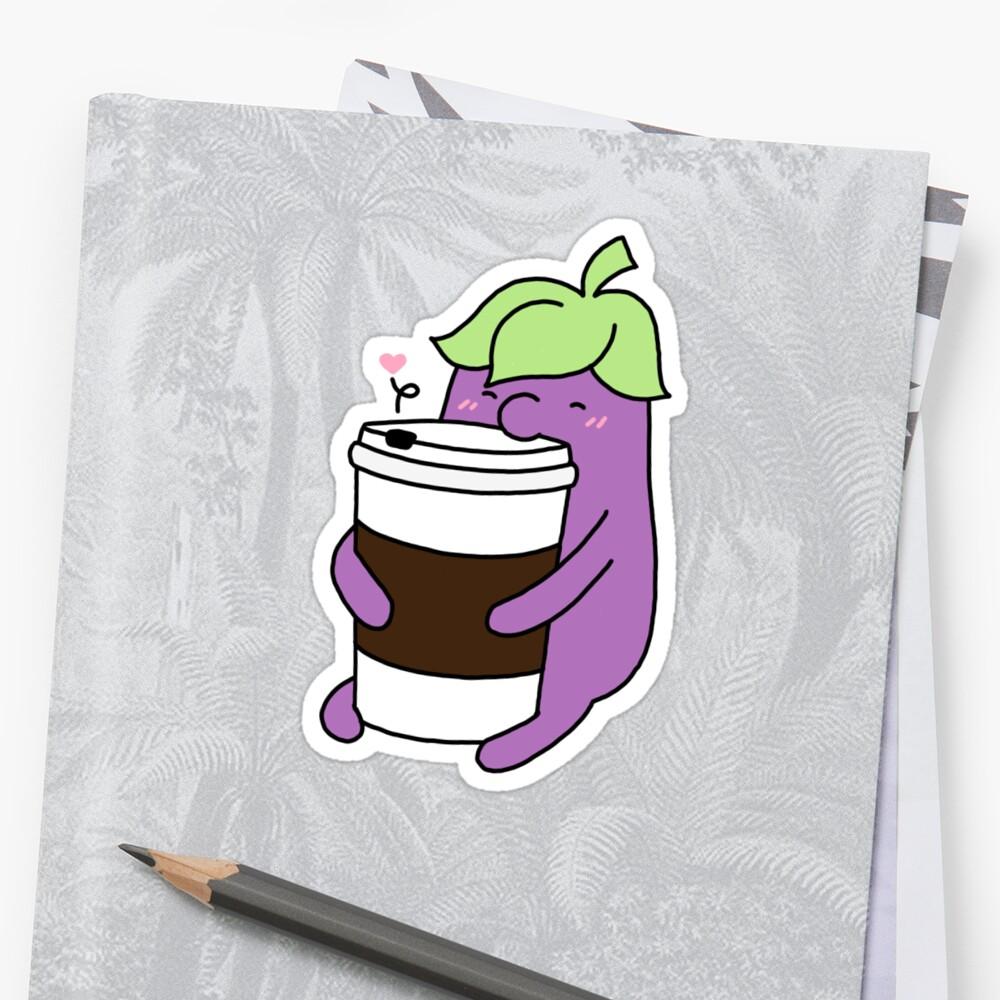 Coffee Eggplant by eggoplanto