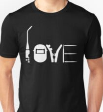 LOVE WELDING Unisex T-Shirt