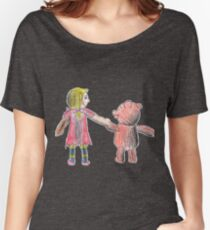 The Forgotten Toys Annie and Teddy Women's Relaxed Fit T-Shirt