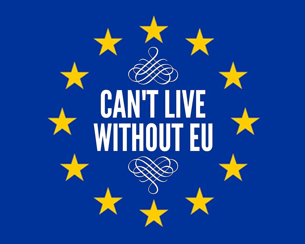 Can't live without EU by MworldTee