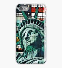 Patriotic Statue of Liberty iPhone Case/Skin