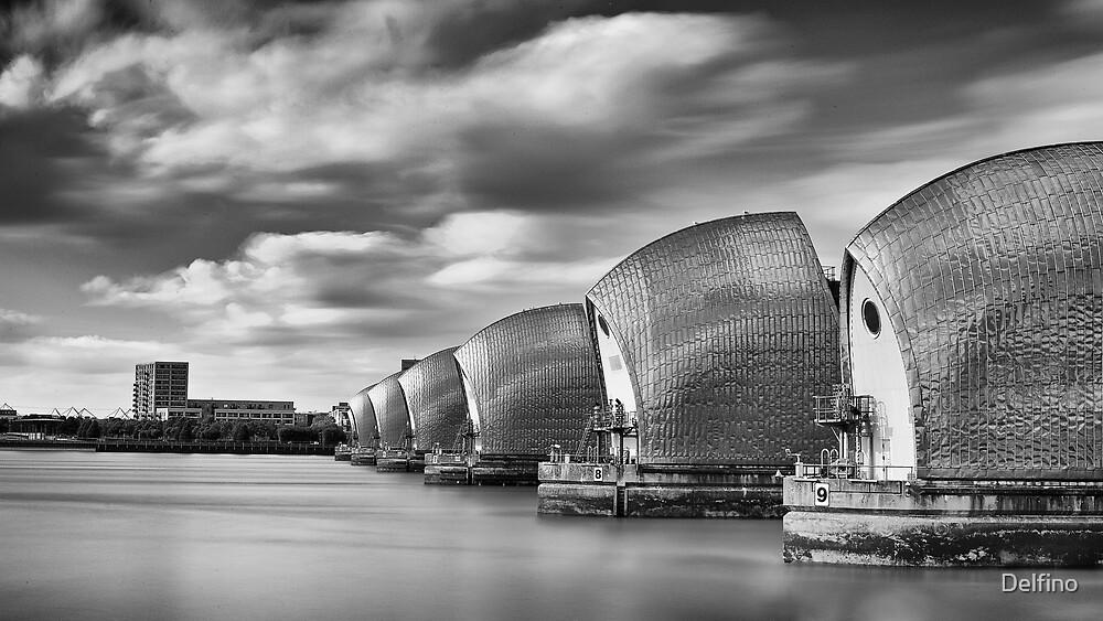 Thames Barrier II by Delfino