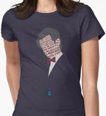Mad Man With A Box Womens Fitted T-Shirt