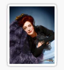 Colorized Joan Crawford circa 1939-1942 Sticker
