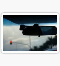 driving home Sticker