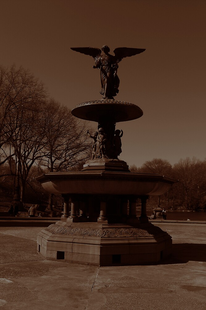 Central Park Fountain by lalalauren311