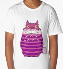 Cheshire Totoro Long T-Shirt
