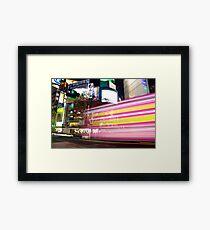 Shibuya Lights Framed Print
