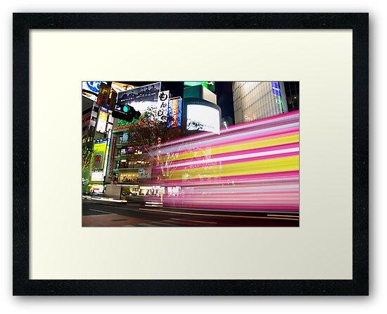 Shibuya Lights by Matt  Streatfeild