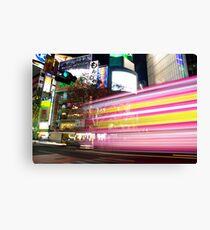Shibuya Lights Canvas Print