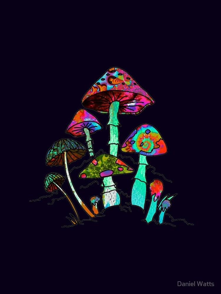 "Garden of Shroomz | ""Field Trip"" Edition by DanJohnDesign"