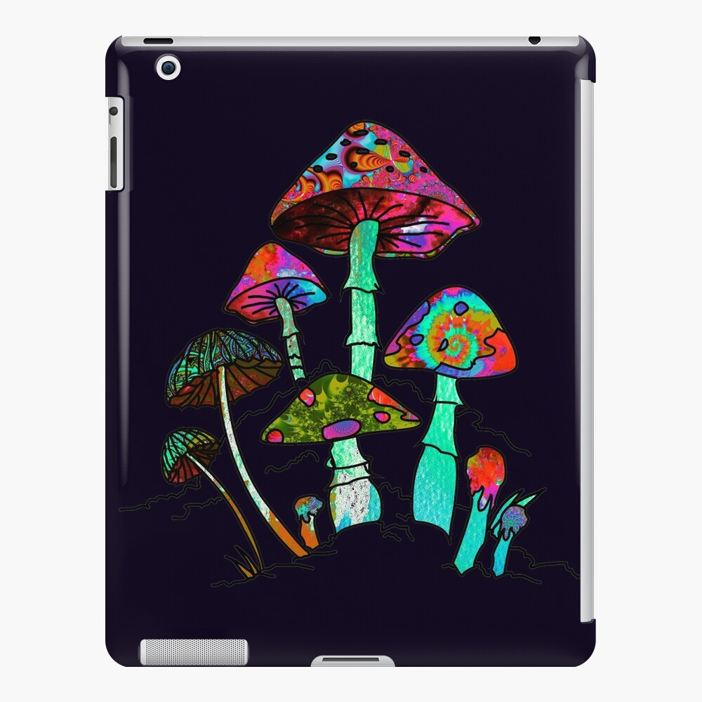 "Garden of Shroomz | ""Field Trip"" Edition iPad Case & Skin"