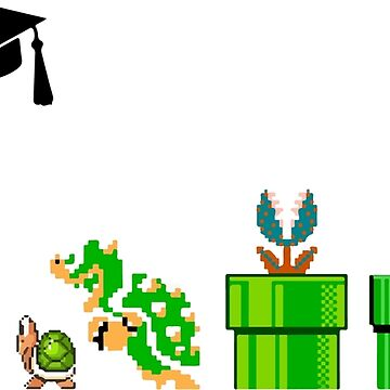Mario is graduating  by evaldaspx