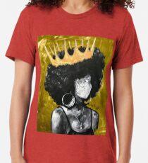 Naturally Queen II GOLD Tri-blend T-Shirt