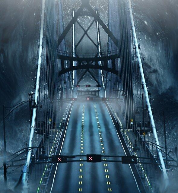 Lions Gate Bridge by Cliff Vestergaard