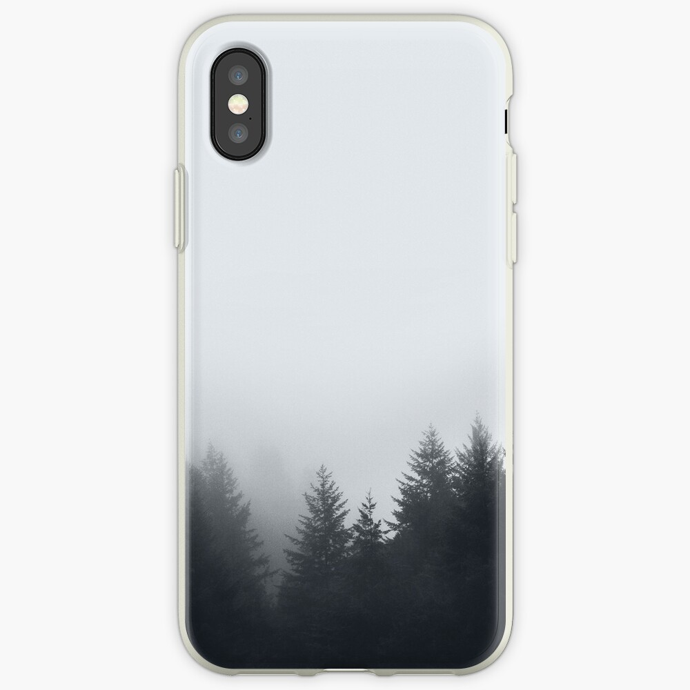 Waldnebel iPhone-Hülle & Cover